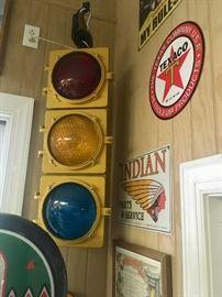 Working traffic light