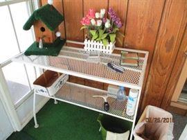 matal plant shelf