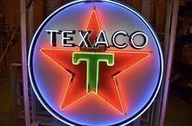 Texaco Neon sign