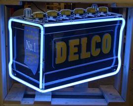 Delco Neon  Sign