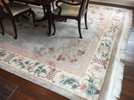 11. Handknotted Chinese Rug from ABC Carpet (9' x 12')