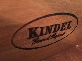 10. Kindel Small Sideboard w/ Gallery (60'' x 21'' x 42'')