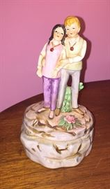Love Story Jenny and Oliver music box
