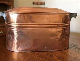 Copper Lidded Tub
