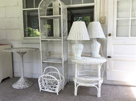 White wicker        http://www.ctonlineauctions.com/detail.asp?id=724340