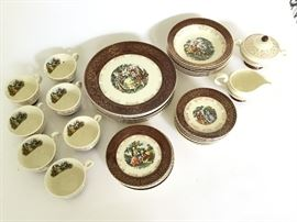 Taylor Smith China set made in USA – Mid century       http://www.ctonlineauctions.com/detail.asp?id=724350