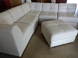 Beautiful White Sectional