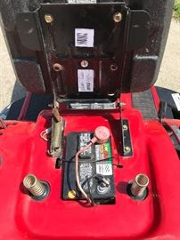 PIC 3 of 4 New Mower Battery 2/18