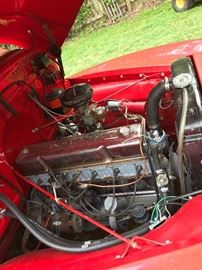 235 6 Cylinder motor has less than 100 miles since restoration