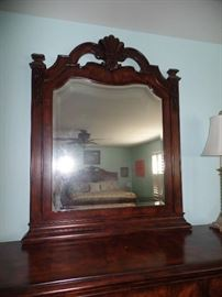 Pulaski Furniture - Queen bedroom set (linen not for sale) w/matching night stand, dresser w/mirror and armoire