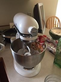 Ta Da the Kitchen Aid Mixer and more
