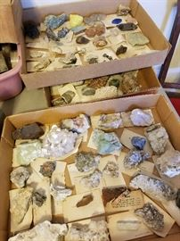 labeled minerals