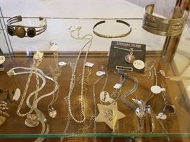 Sterling jewelry (not on site until day of sale). Most of the sale jewelry is not pictured.
