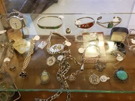 Sterling jewelry (not on site until day of sale). Most of the jewelry is not pictured.