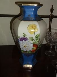 Pair of Nippon vases....12 inches tall