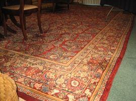 18' x 10.5' Sarouk rug