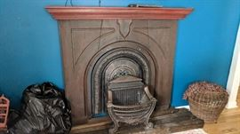 Antique Fireplace facade - pieces sold separately: