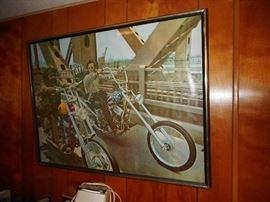Easy Rider Poster Framed