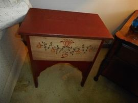 Hand Painted Storage Occasional Tables. Top Lifts (2)