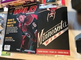 Minnesota Wild magazines