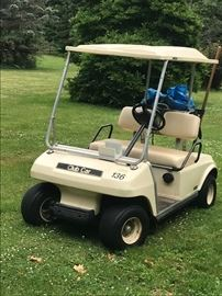 GAS POWERED GOLF CART $1900.00, WILL NOT BE HALF PRICE. FIRM