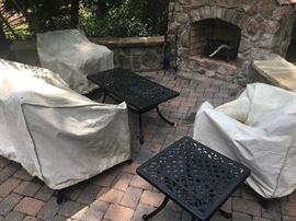6-piece outdoor furniture set