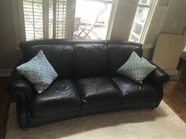 Leather sofas (2)