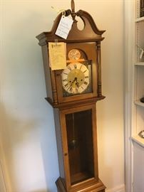 Chiming, working mechanical Grandmother clock? Come see it, hear it and make it yours