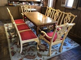 8 piece of Vintage Chair for Dining Table