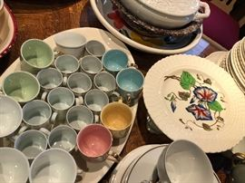 Italy, Portugal Vintage China Set and Dishes