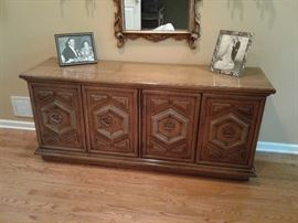 Matching sideboard credenza