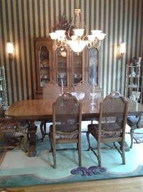Spectacular formal dining room