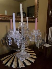 Crystal Candleabra