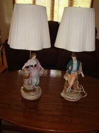 Pair of Antique Lamps (Pisa, Italy)