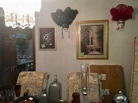 Art glass and wall art!