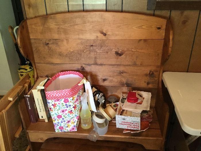 Antique wooden Bench