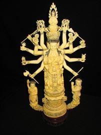 Hand Carved Shiva