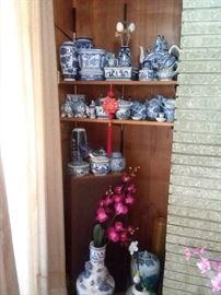 Blue and white Porcelain - Home decor