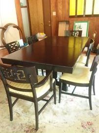 black table set 125