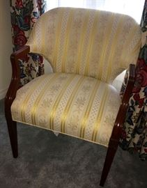 Elmer F. Tebbe Furniture Company, St. Louis, chair from mid-century