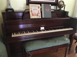 Gulbranson upright piano plus a Baldwin upright piano