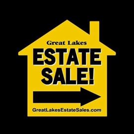 We Are...Great Lakes Estate Sales! It's Like We're Hosting Our Own Little Art Show In St. James!  You'll See!