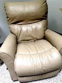 Now...Let's Talk Furniture...How About A Leather La-Z-Boy Recliner?...