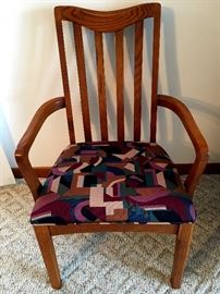 Two Of Them Are Arm Chairs...LOVE The Fabric!...
