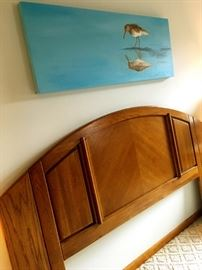 Upstairs...There's A Beautiful (again like new) King Size Headboard...