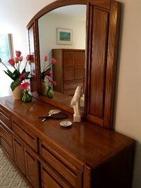 and...A Matching Dresser w/Mirror...