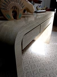 A Very Cool Sofa Table...