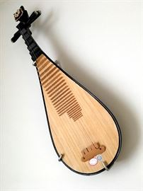 And Who ~ Oh Who Else ~ Is Offering You A Chinese Pipa Guitar This Weekend?...Yep...Only Us...