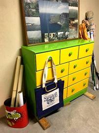 Equally Groovy Dresser...
