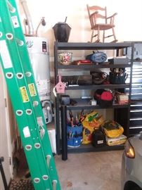 tools and garage racks  three racks 45 each